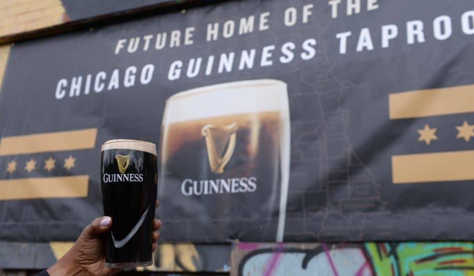 A Guinness Taproom Is Coming To Chicago's Vibrant West Loop Neighborhood