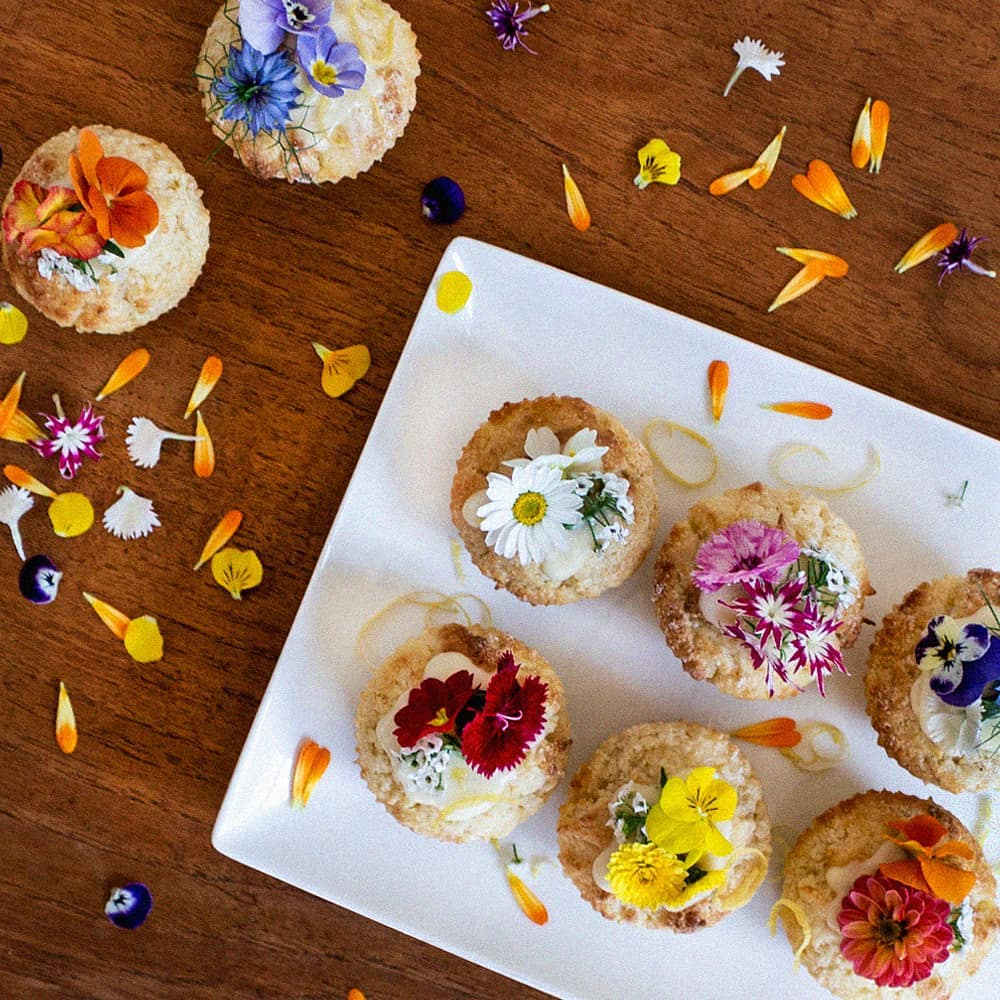 Up Your Baking Game By Ordering Edible Flowers From This Christchurch Spot • Petal & Co.