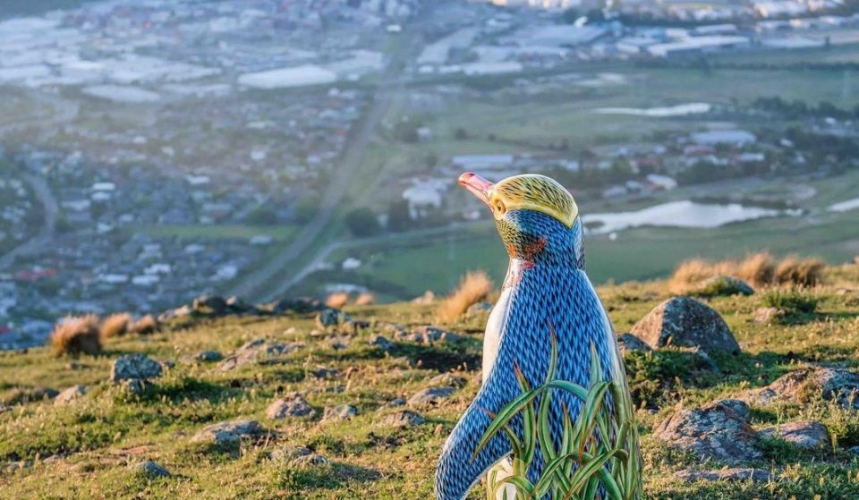 A Pop-Up Public Art Trail Of Colourful Penguins Have Appeared Around Christchurch