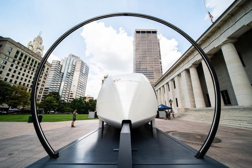Virgin's Futuristic Hyperloop Transportation Aims To Smash Plane Times In The Midwest