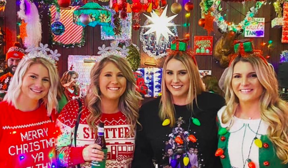 The Christmas Corner Pop Up Bar Opens With (Necessary) Over-The-Top Holiday Cheer