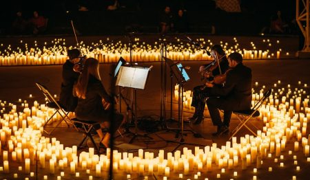 Experience Magical Candlelight Concerts In Stunning Open-Air Spaces This Spring