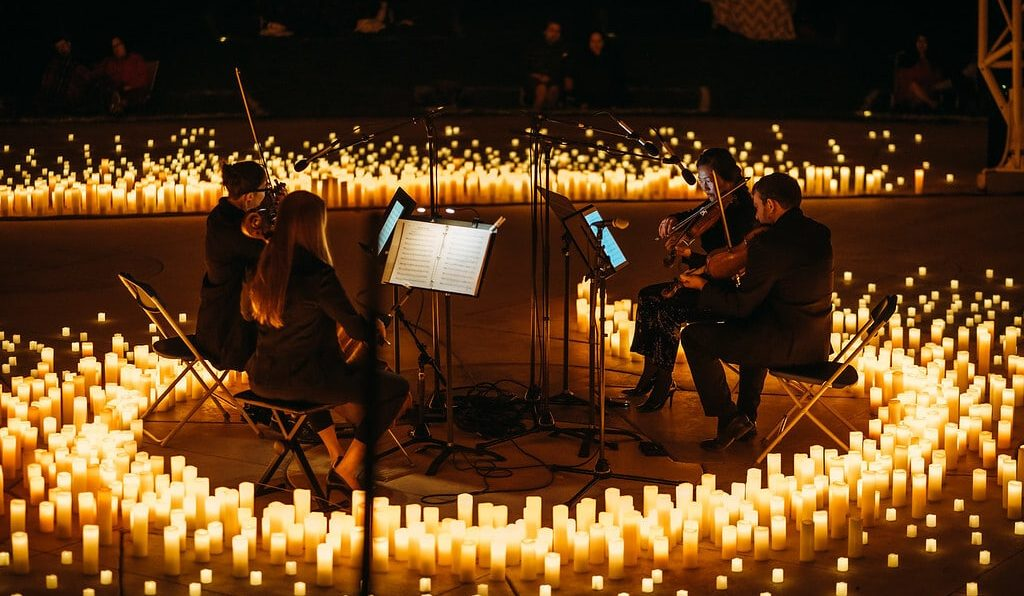 Experience Magical Candlelight Concerts In Stunning Open-Air Spaces This Summer