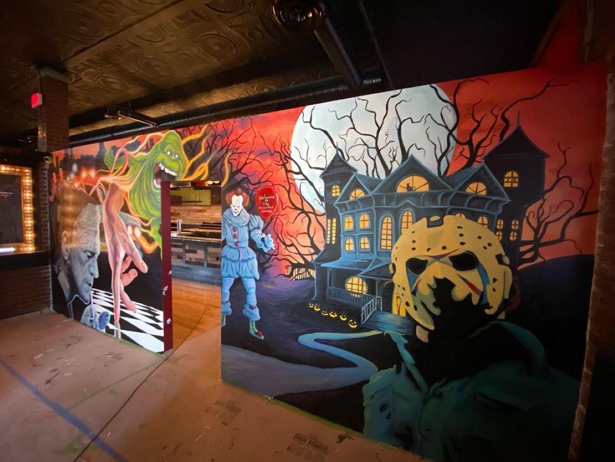 Haunted House Restaurant Cleveland