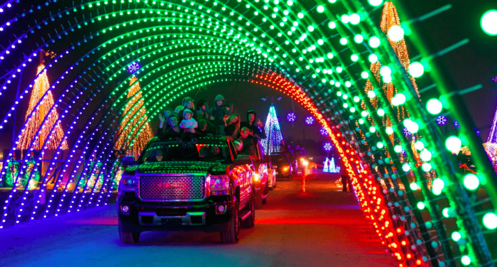 Three 'Radiant' Drive-Thru Lighting Spectacles Are Dazzling Texas For The Holidays