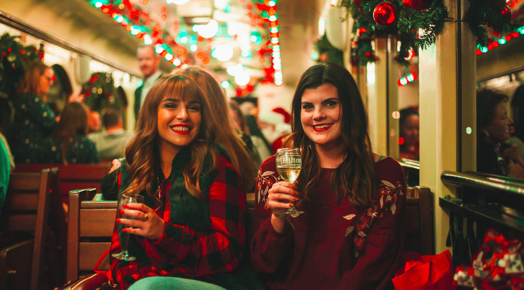 This Christmas Wine Train In DFW Is Basically The Polar Express For Adults
