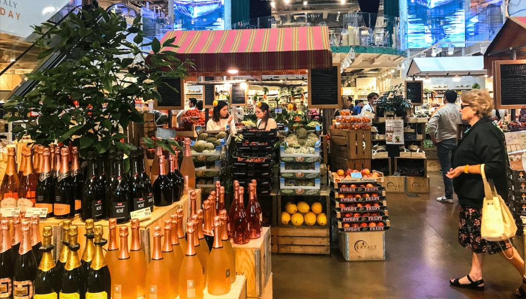 Eataly Italian Marketplace Opens Today