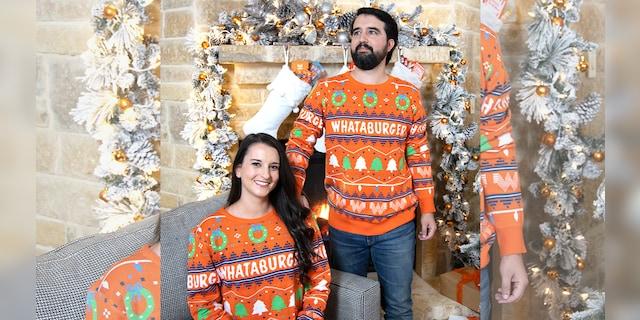 Whataburger Unveils New Line Of Tacky Christmas Apparel