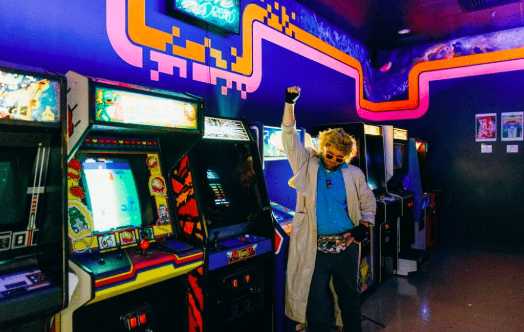 Beat The High Score At This Retro Arcade Straight Out Of The '80s In Frisco