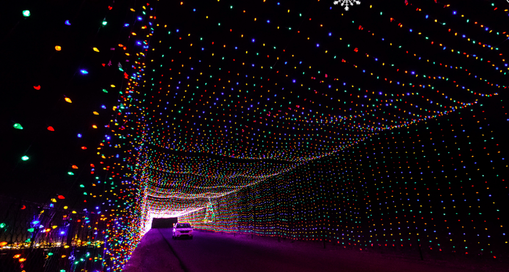 The Texas Motor Speedway Has Transformed Into A Festive Light Circuit Spectacle
