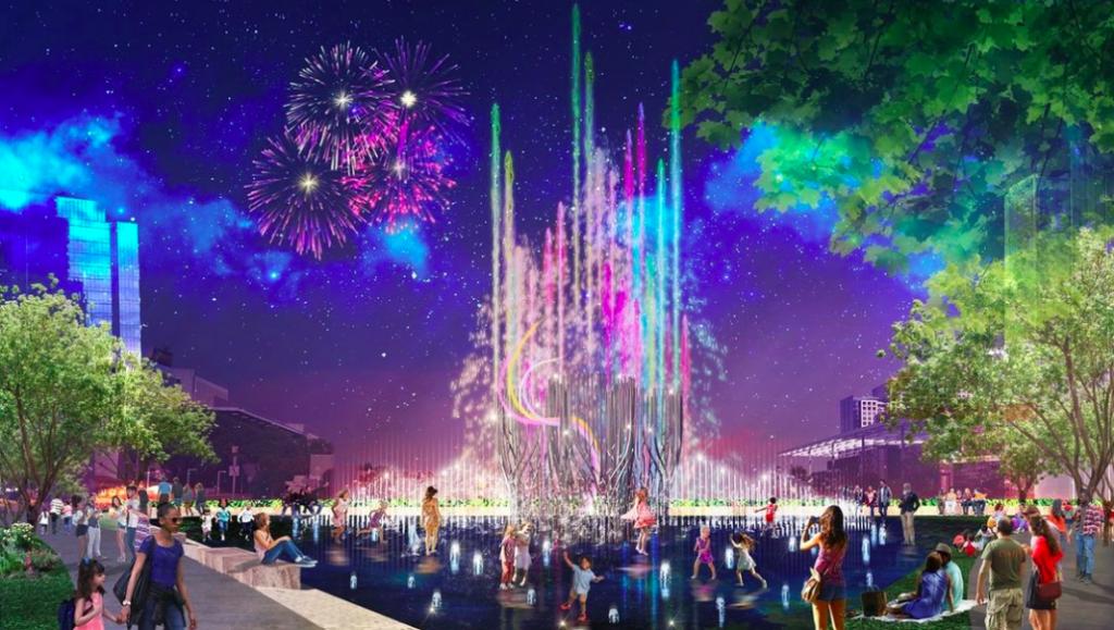 World's Tallest 'Super Fountain' Coming To Klyde Warren Park