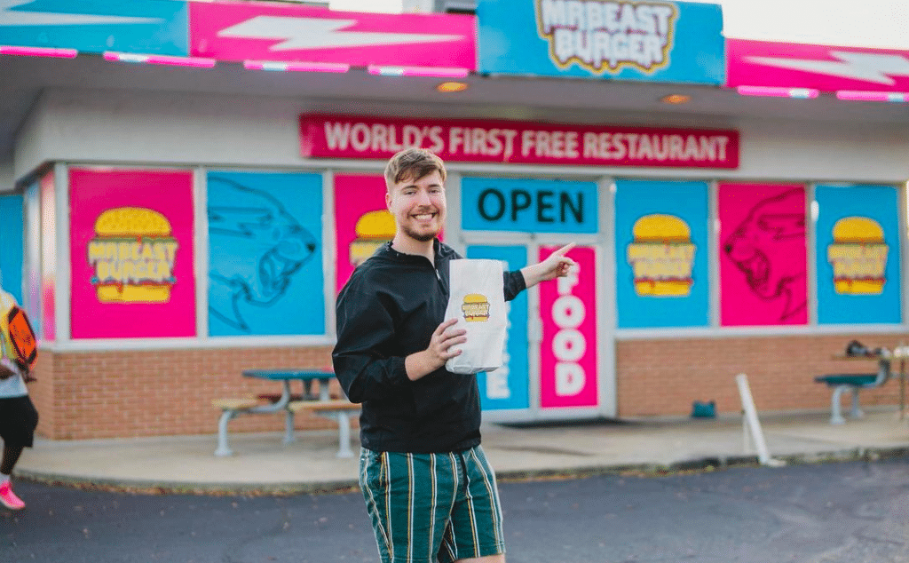 Popular Youtuber, MrBeast, Opens Burger-Based Ghost Kitchens In Dallas