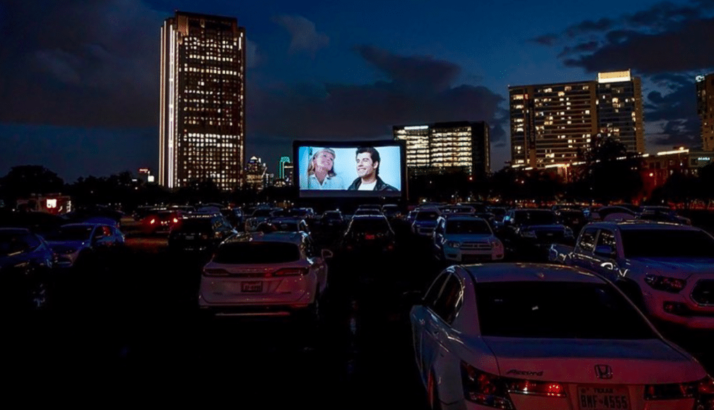 Watch Movies Under The Stars At The Rooftop Cinema Club Drive-In At The Central