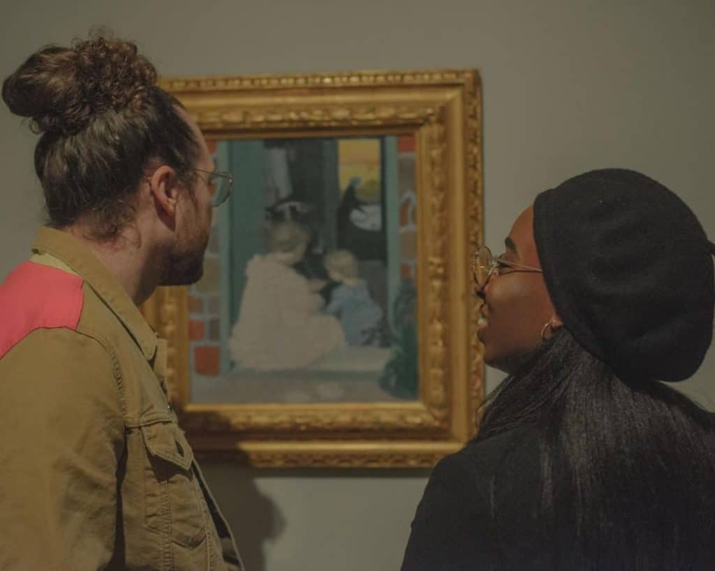 Go on a museum date