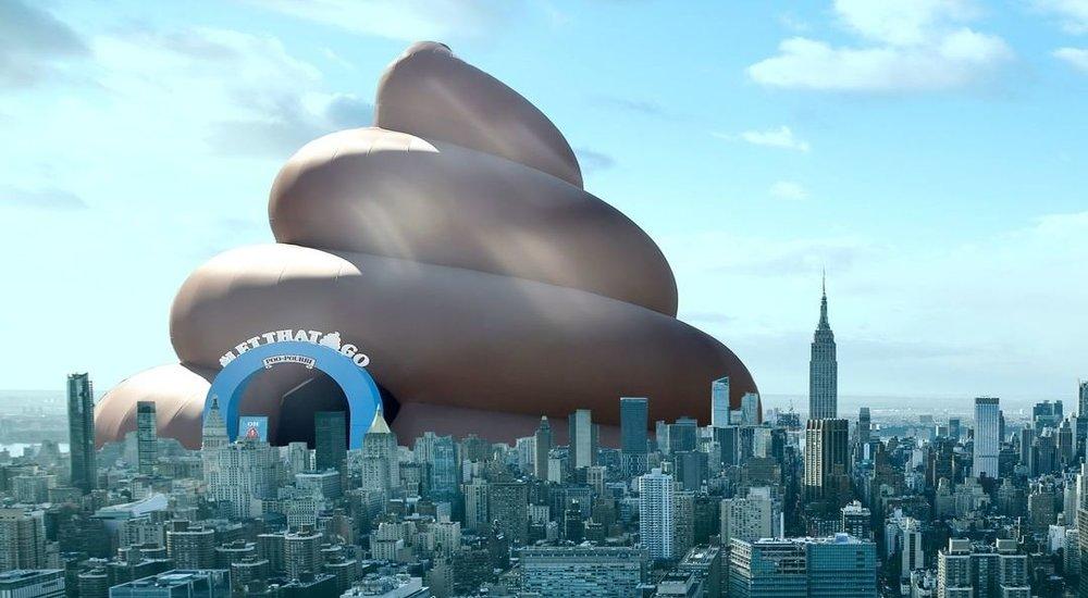 Giant Poo Tour Comes to Washington D.C.