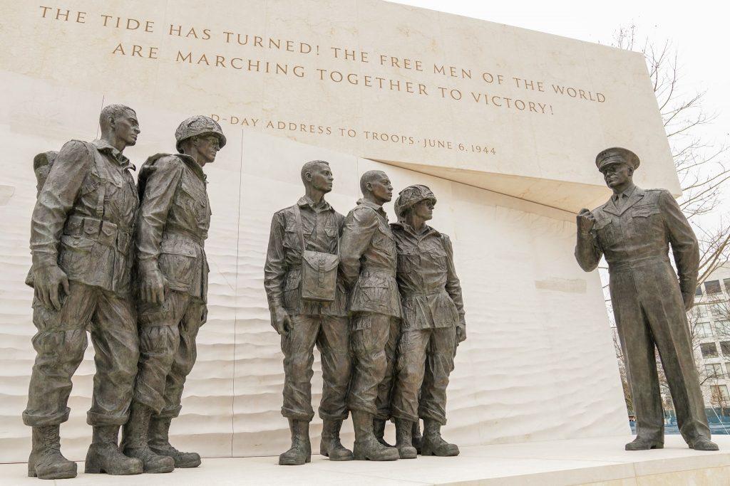 Eisenhower Memorial Opening
