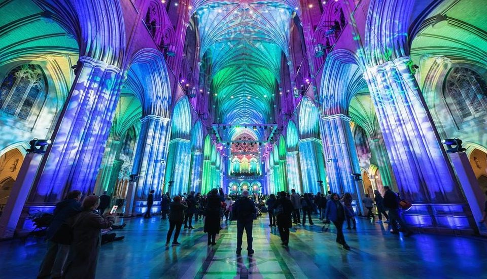 10 Beautiful Shots Of This Year's Seeing Deeper At The National Cathedral