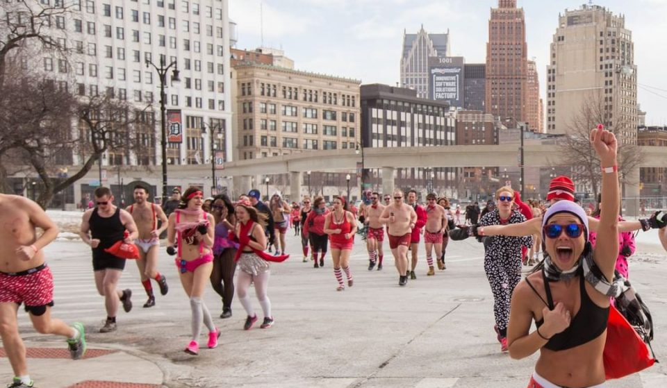 Washingtonians Go Pantless For A Good Cause As Cupid's Undie Run Turns 10 Years Old