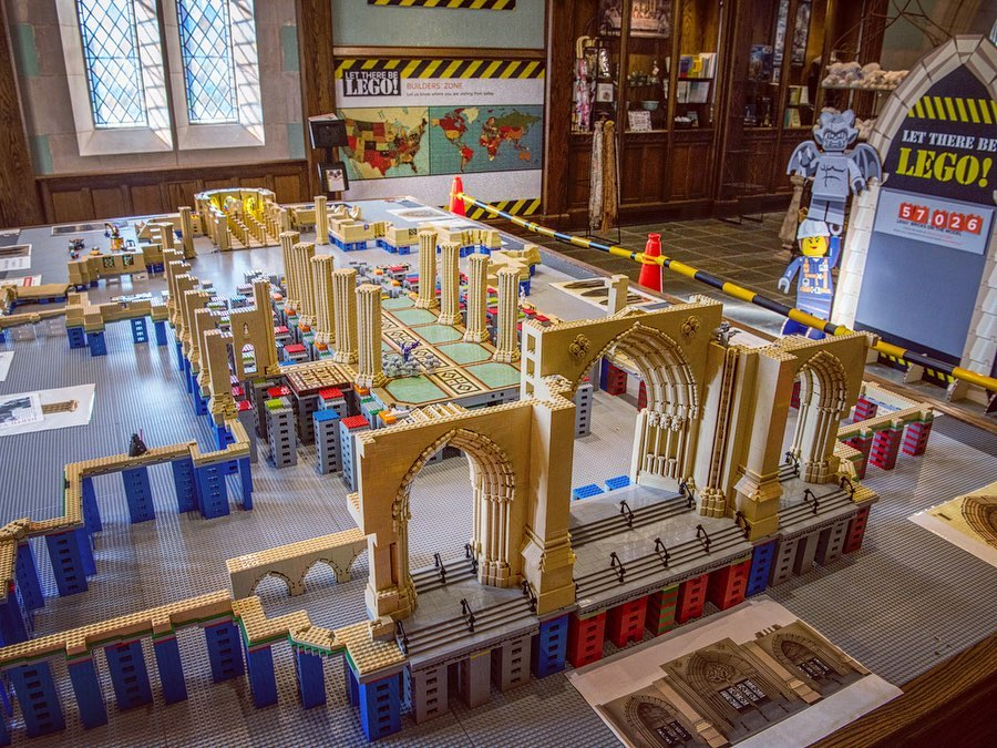 Lego Model National Cathedral