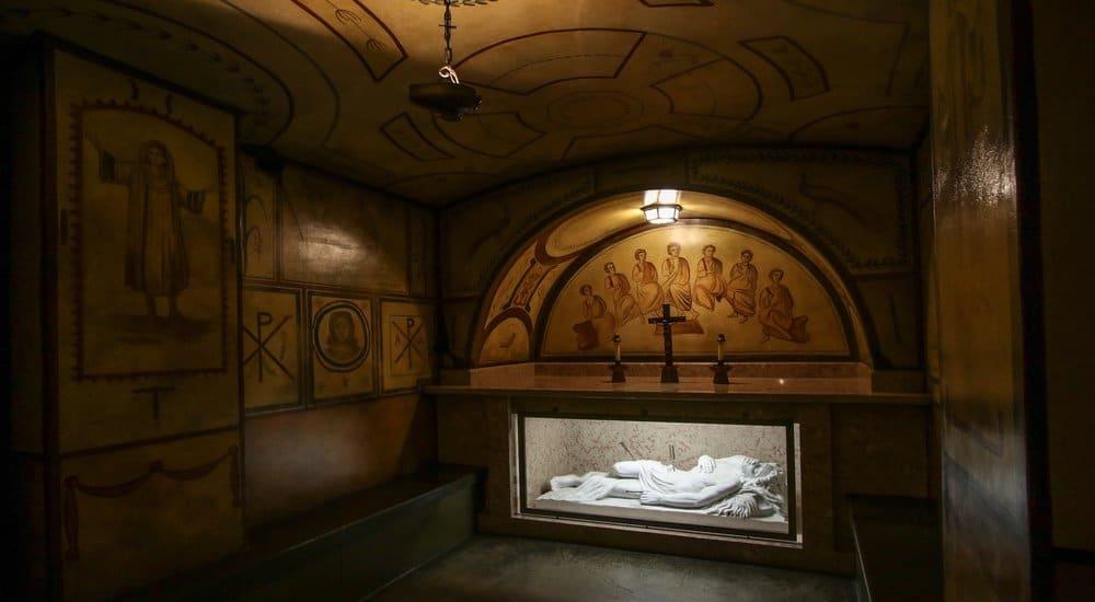Franciscan Hidden Catacombs In DC