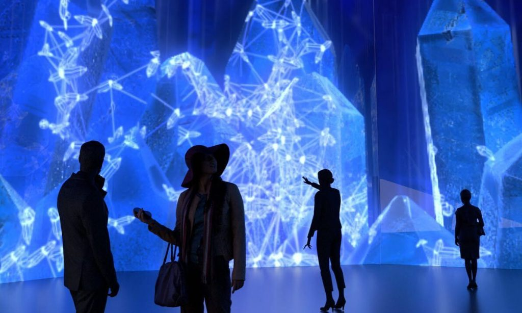 Immerse Yourself In A Wonderful World Of Blue Light At This Magical DC Art Space