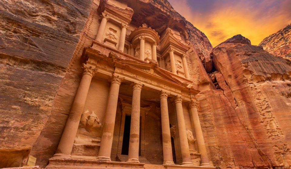 You Can Go On A Virtual Tour Of Petra, The Ancient Rose City, From Your Living Room