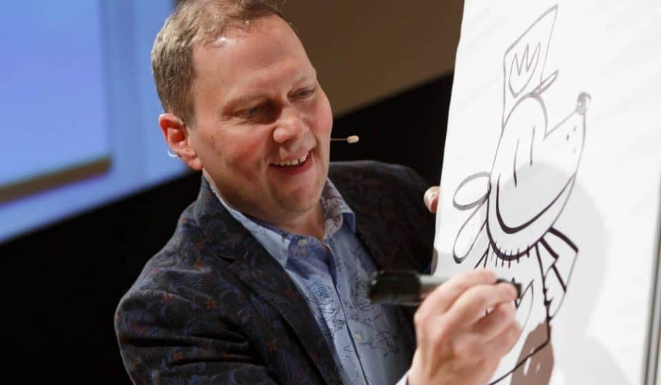"""Dav Pilkey, Author Of """"Captain Underpants,"""" Is Teaching Everyone How To Draw Like Him"""