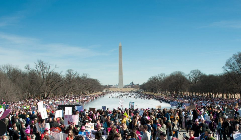 Over 8,000 People Are Expected To Gather In DC For The Upcoming Women's March This Saturday