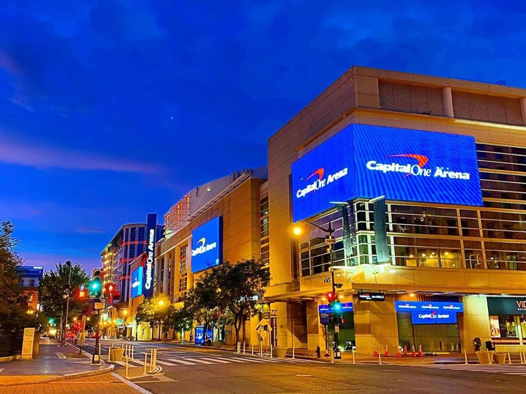 Capital One Arena Polling Station