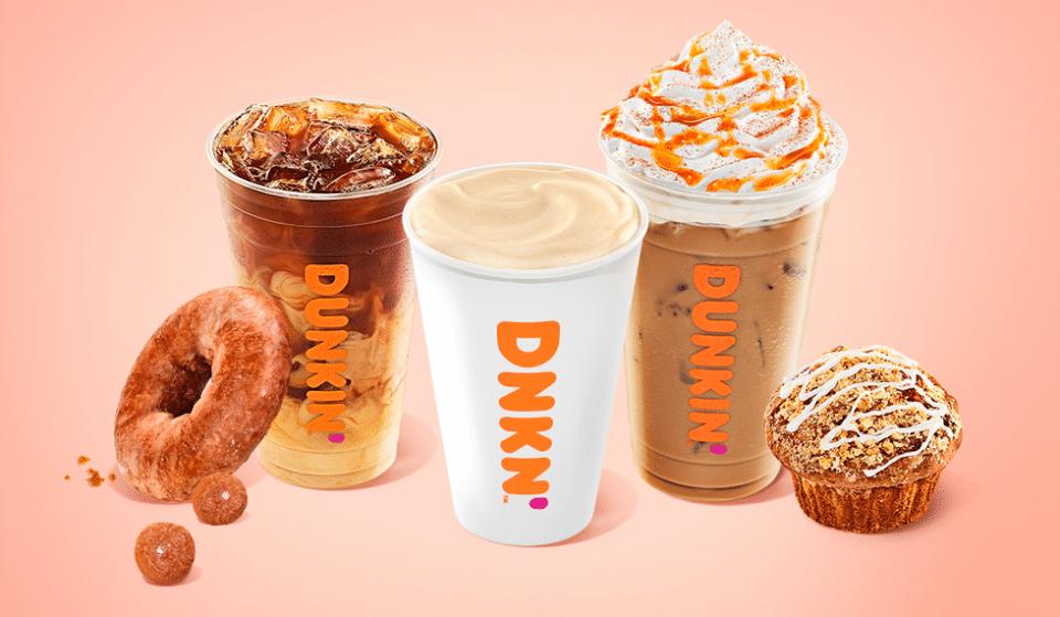 Dunkin' Is Dropping Their Pumpkin-Flavored Fall Menu This Week