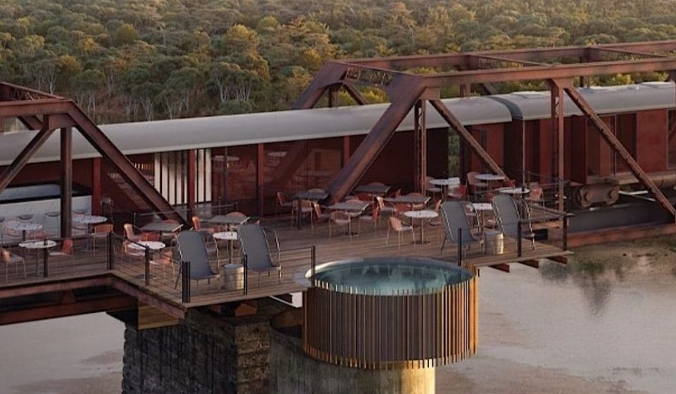 A Historic Train Has Been Turned Into A Luxury Hotel Suspended Above The Kruger National Park