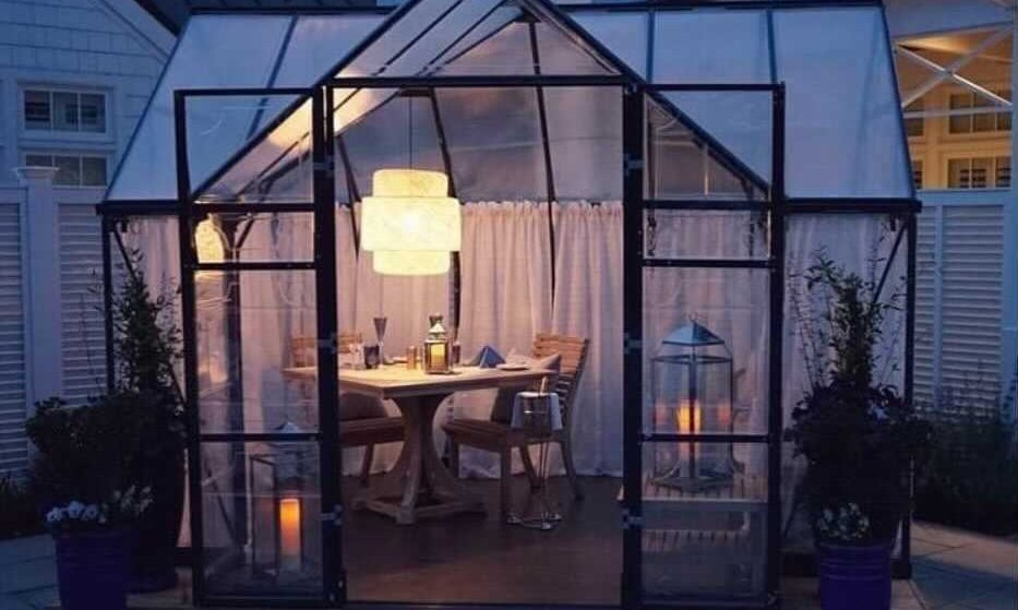 You Can Now Dine In An Adorable Green House At This Eastern Shore Restaurant • Inn At Perry Cabin