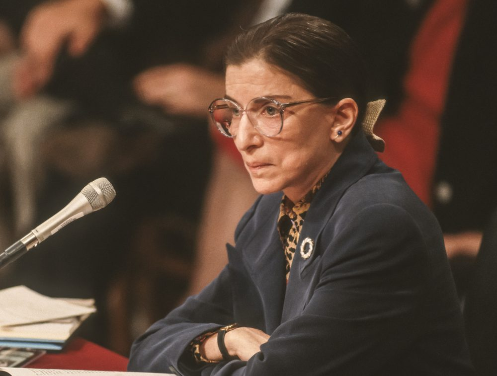 Ruth Bader Ginsburg Will Be The First Woman To Lie In State At The Capitol