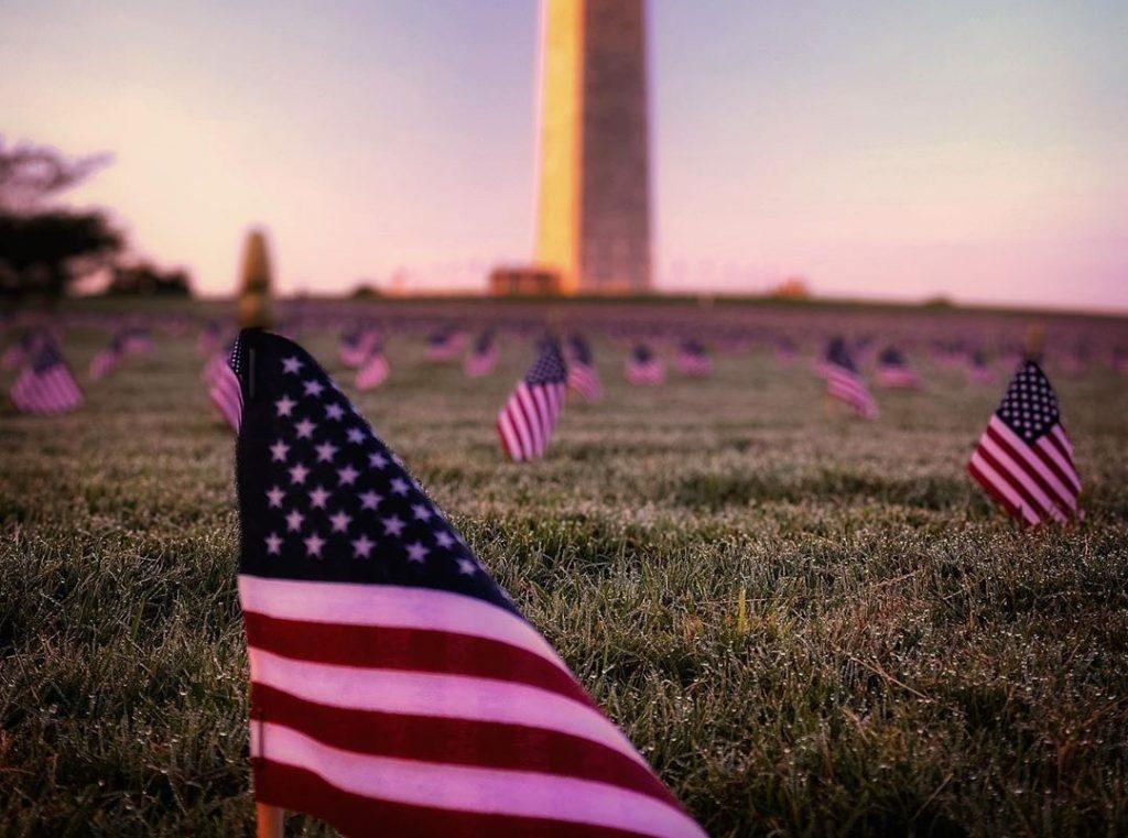 Coronavirus Memorial Around Washington Monument