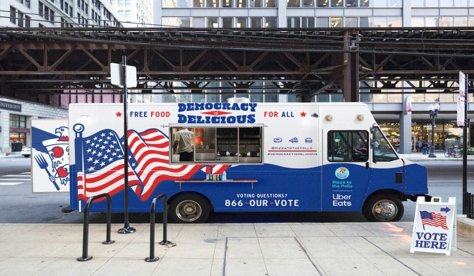 This Non-profit Will Bring Free Food To Washingtonians Waiting In Line To Vote • Pizza To The Polls