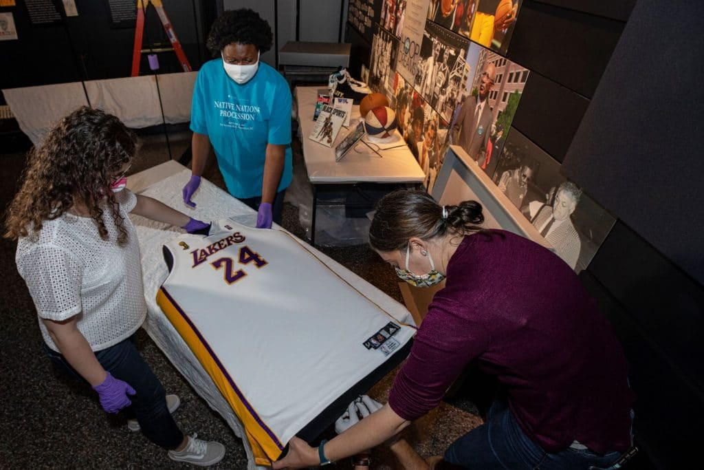 Kobe Bryant's Jersey Is Now On Display At The National Museum of African American History and Culture