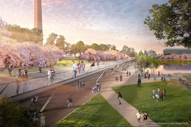 This Is How The Tidal Basin Could Look Like In 100 Years