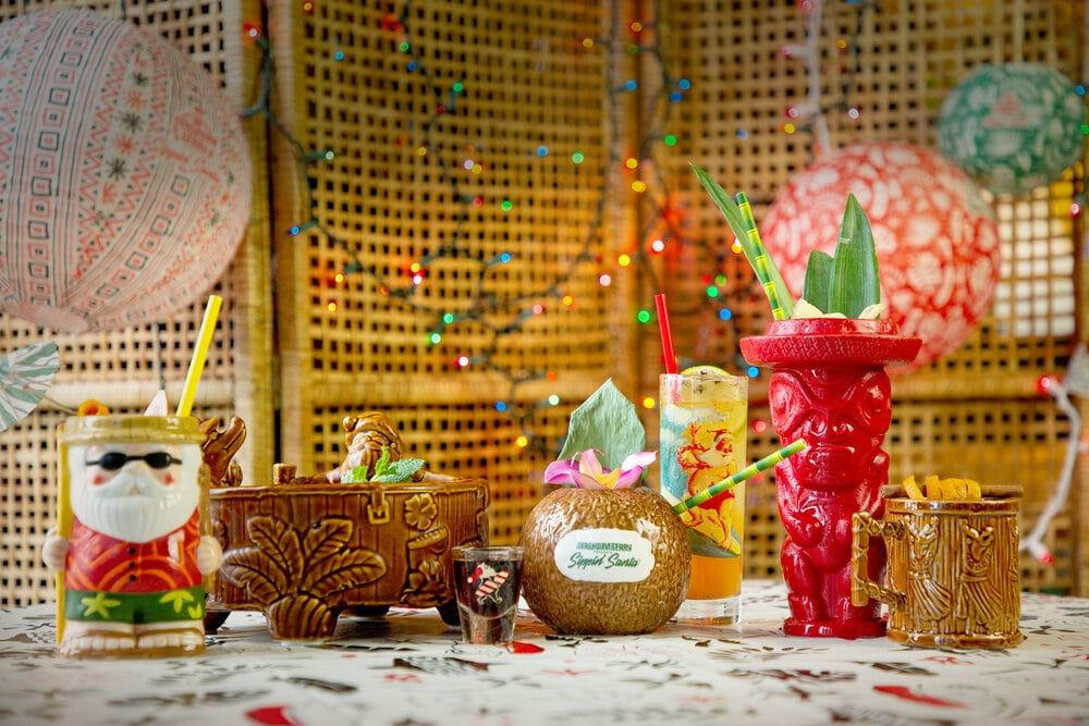 Get Into The Holiday Spirits With This Tiki-Themed Holiday Pop-up Coming To DC