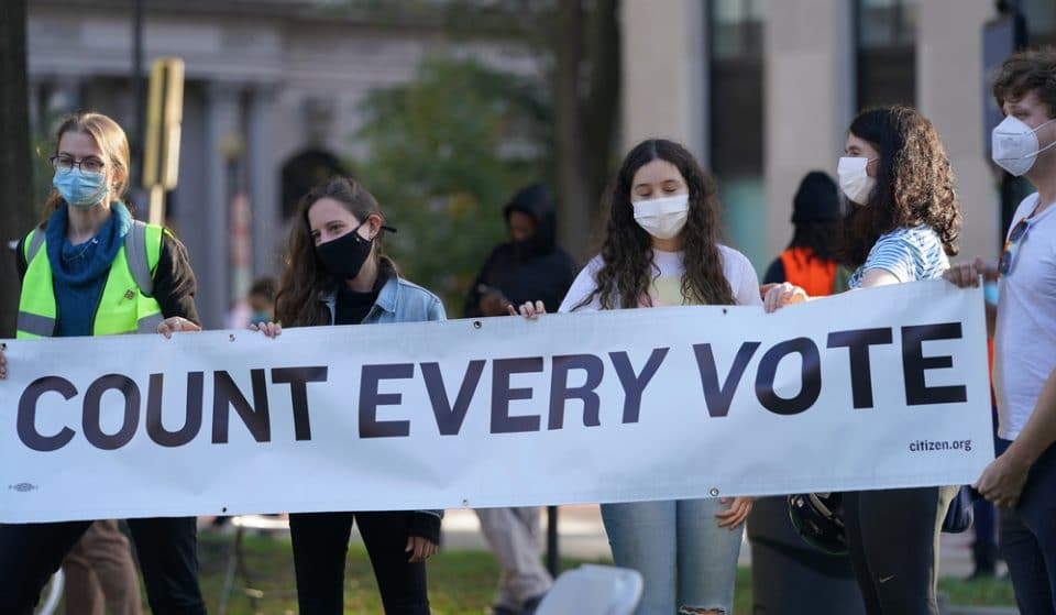 The Most Powerful Photos From Yesterday's 'Count The Vote' March In DC