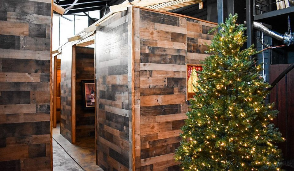 Get Whisked Away To The Swiss Alps In One Bite At These Adorable Ski Chalets In H Street