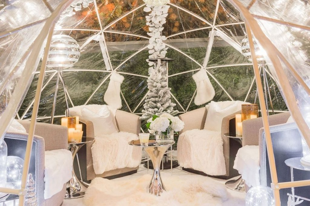 You Can Still Cozy Up Inside One Of Watergate Hotel's Charming Igloos!