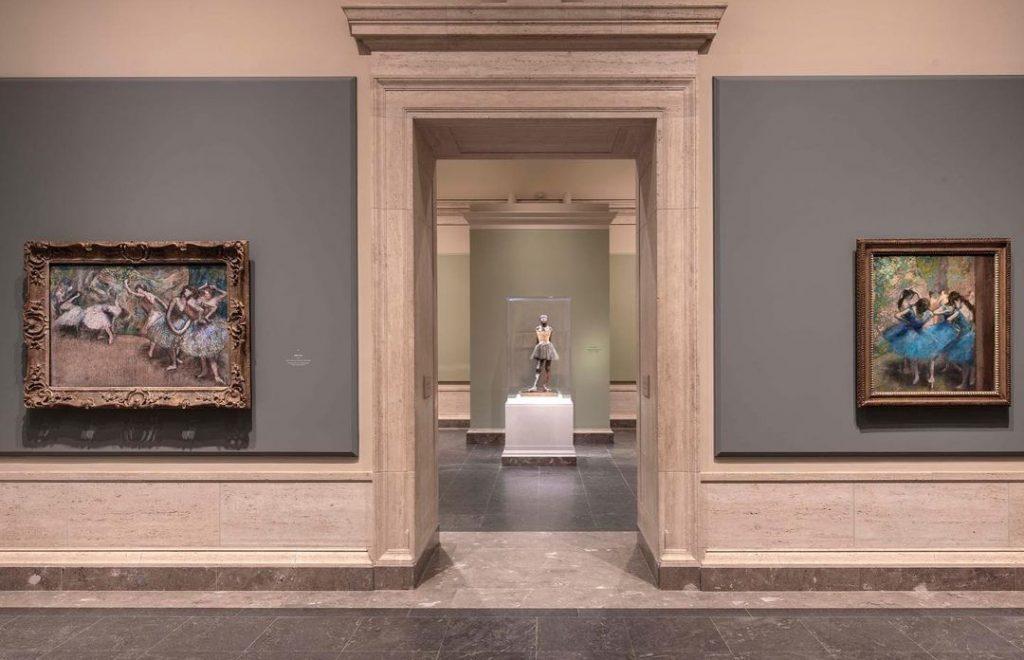 National Gallery of Art Degas Exhibit