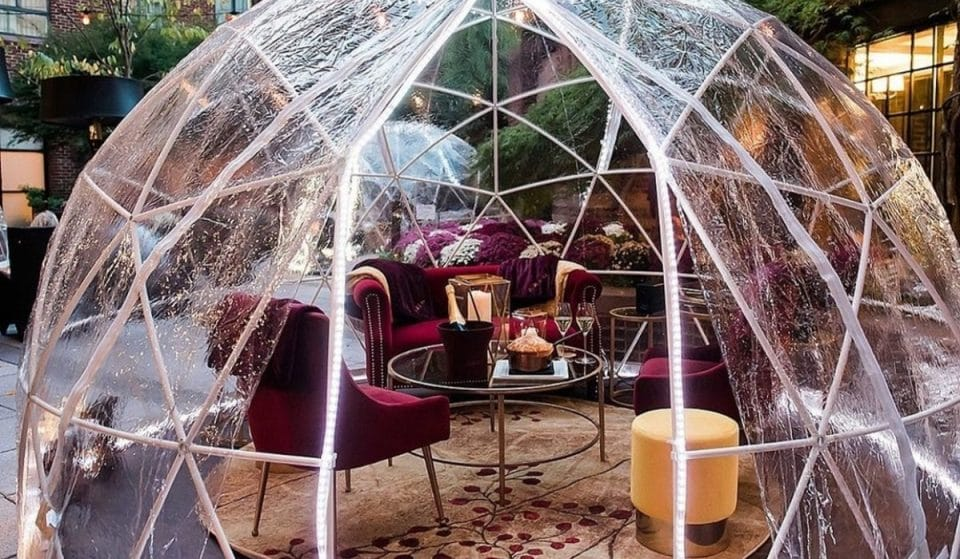 Igloos, Ski Lodges and Yurts: 14 Of The Most Creative Outdoor Dining Setups In DC