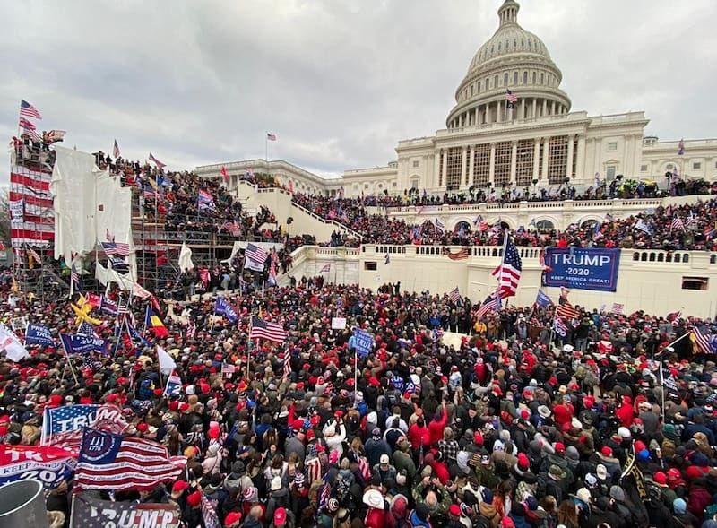 Capitol Hill Put On Lockdown As Demonstrators Break Into U.S. Capitol