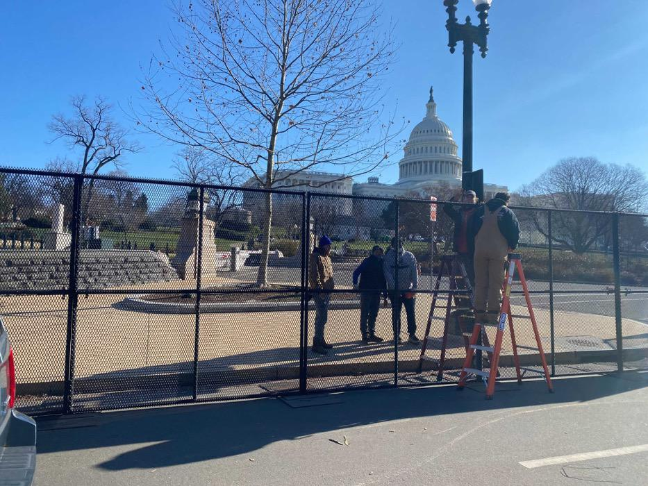 A Non-Scalable Fence Has Been Installed Around The U.S. Capitol