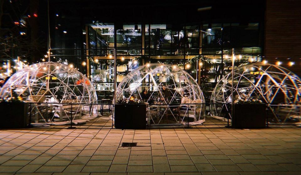 This Navy Yards Restaurant Has Set Up Dazzling Igloos Which Are Perfect For Outdoor Dining