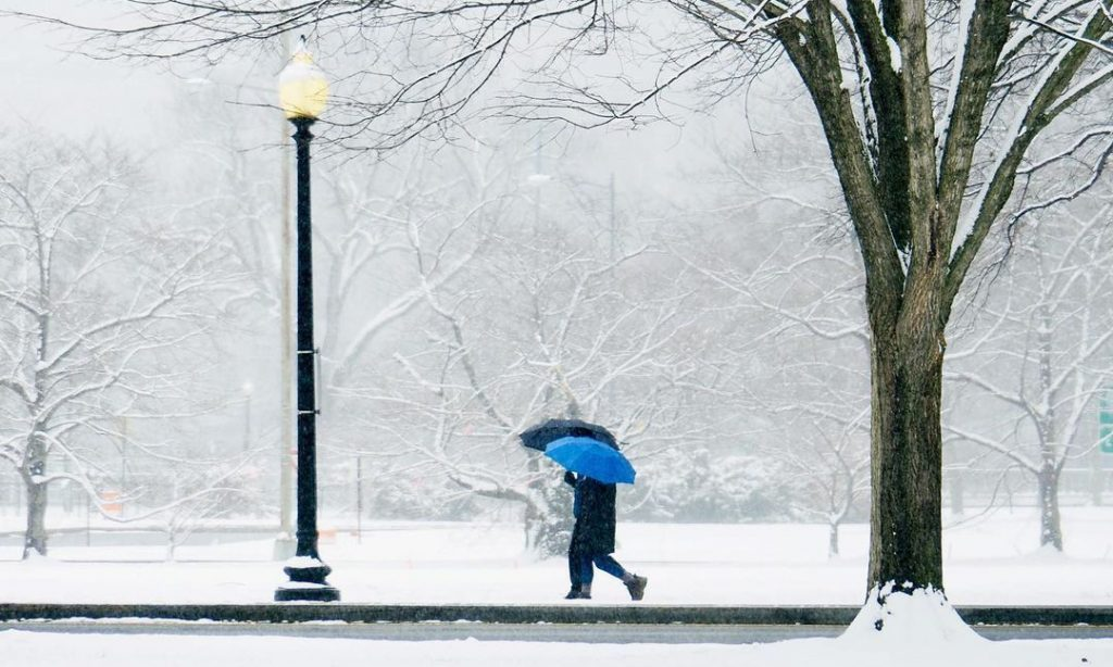 Winter Storm Watch Issued In Washington DC For Tonight