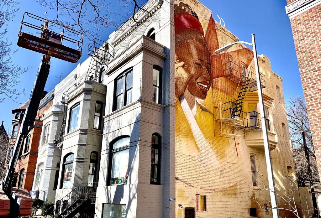 A Mural Honoring Inaugural Poet Amanda Gorman Is Going Up Near Dupont Circle