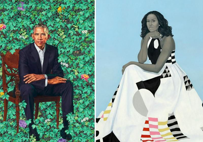The Obamas' Iconic Portraits Depart The National Portrait Gallery May 23