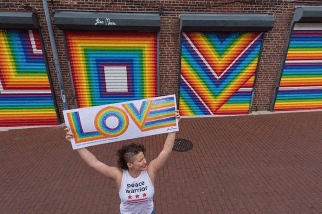 This Colorful Mural Celebrates Love In The Heart Of DC